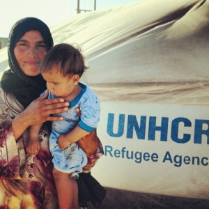 mother & child zaatari