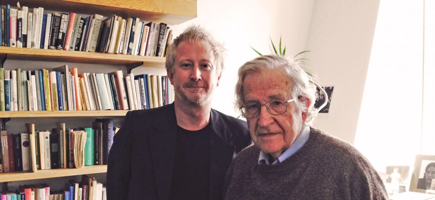 Noam Chomsky and Graham Brown-Martin